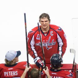 Ovechkin Selects Another Stick