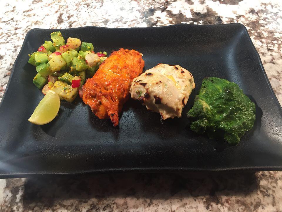 Tirangi tikka at Dastaan, one of the best Indian restaurants in London
