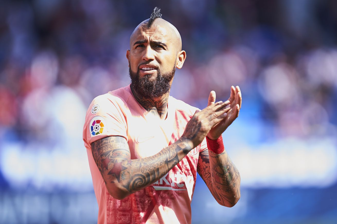 Vidal: Barcelona were thinking about Man Utd against Huesca