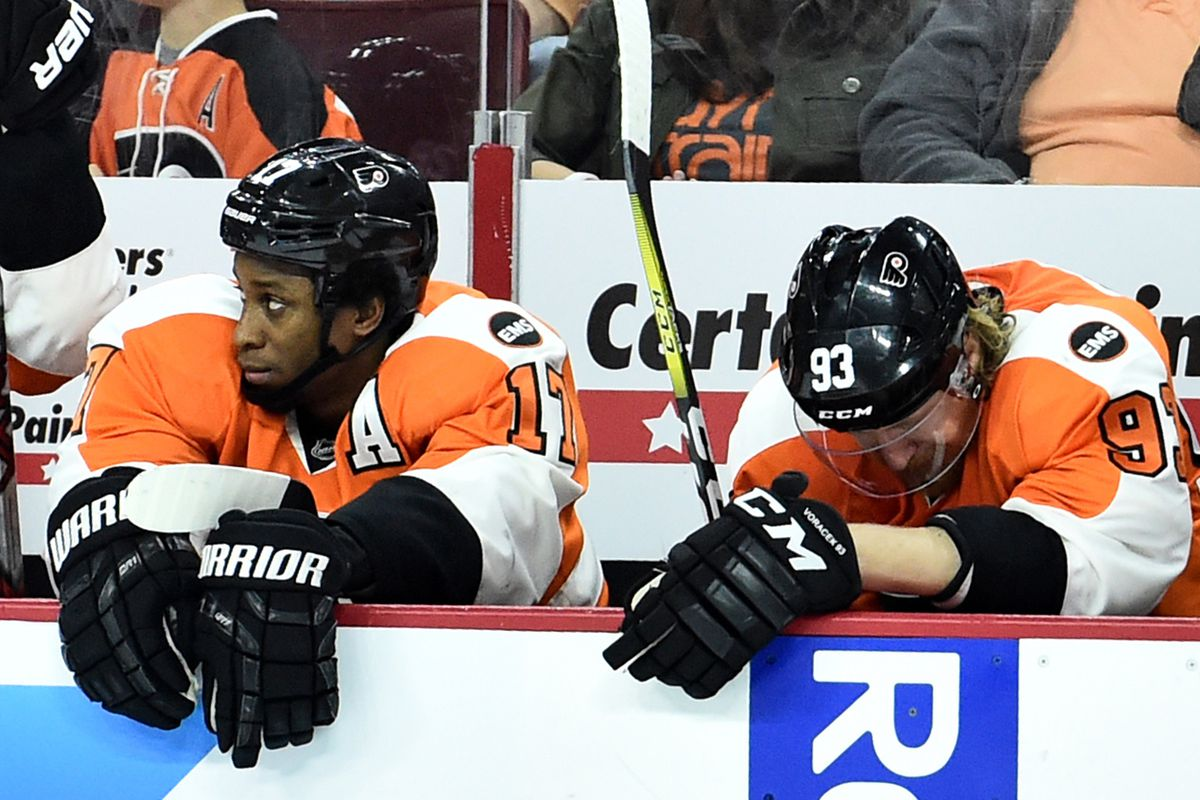 Flyers vs. Capitals Game 3 recap  Ugly on the ice and in the stands as  Flyers lose 6-1 5c0ef04a3e8