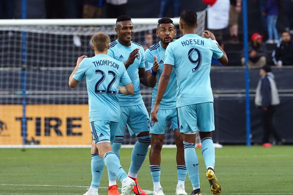 MLS: Sporting Kansas City at San Jose Earthquakes