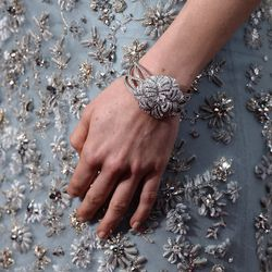 Daisy Ridley in Chanel fine jewelry.