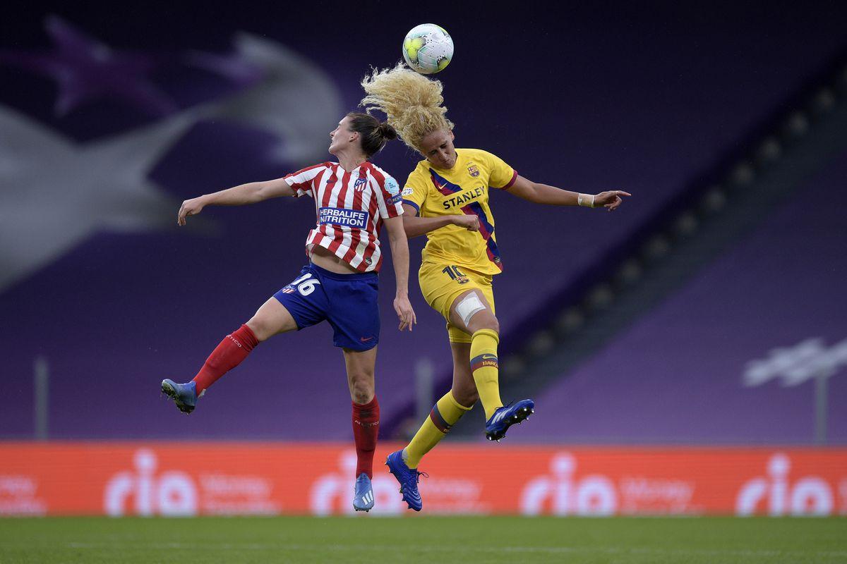 Atletico Madrid v FC Barcelona - UEFA Women's Champions League Quarter Final