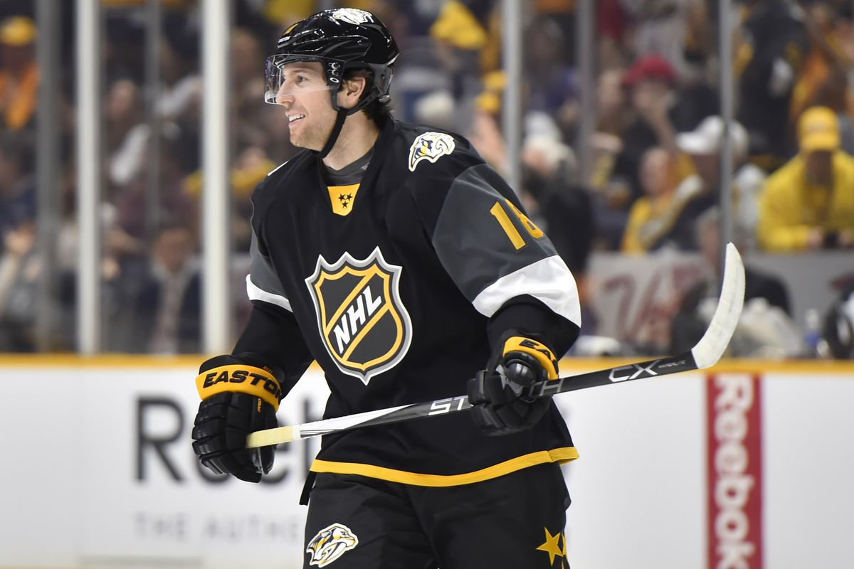 new products 4c4e0 9d8ba James Neal scores two goals in 2016 NHL All-Star Game - On ...