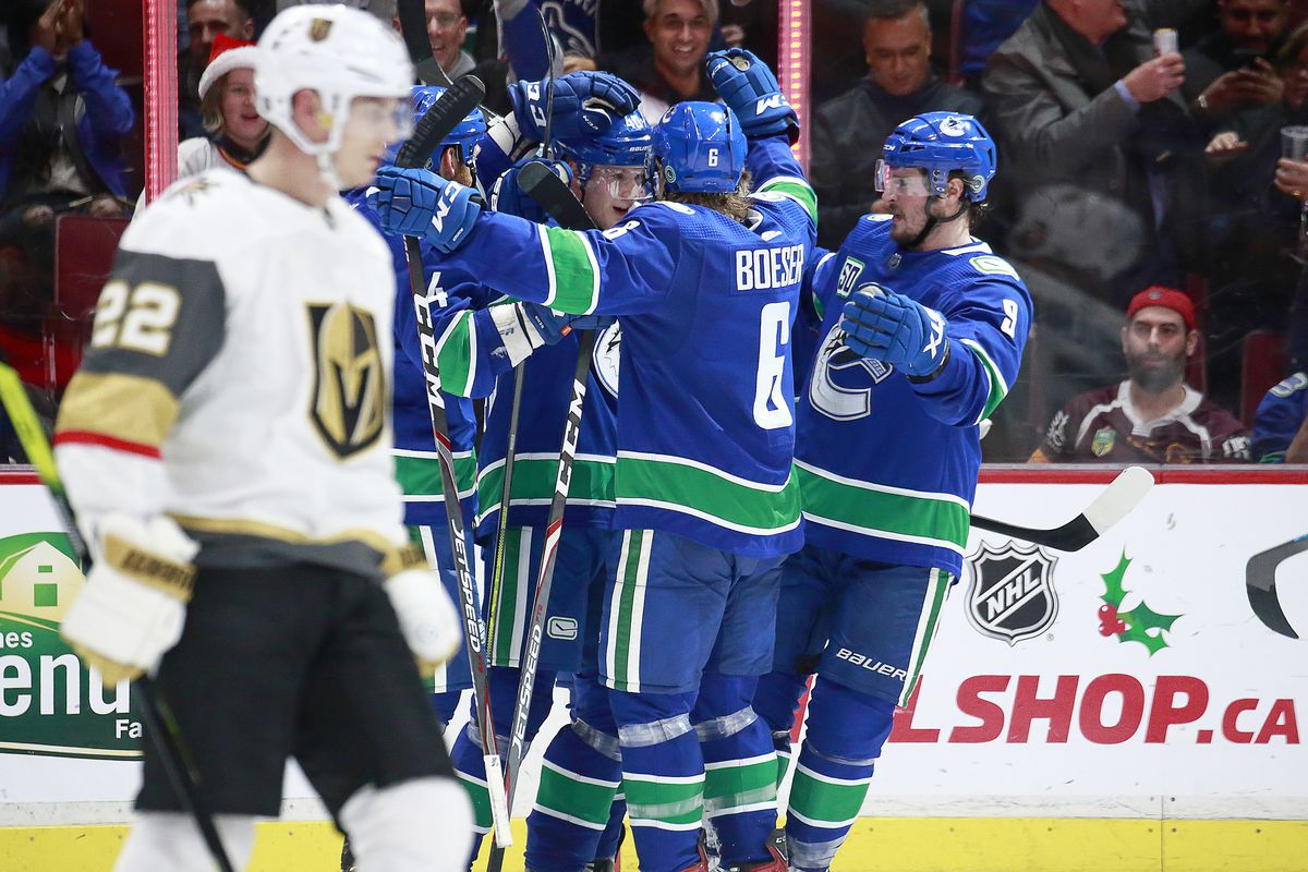 Vegas Golden Knights v Vancouver Canucks