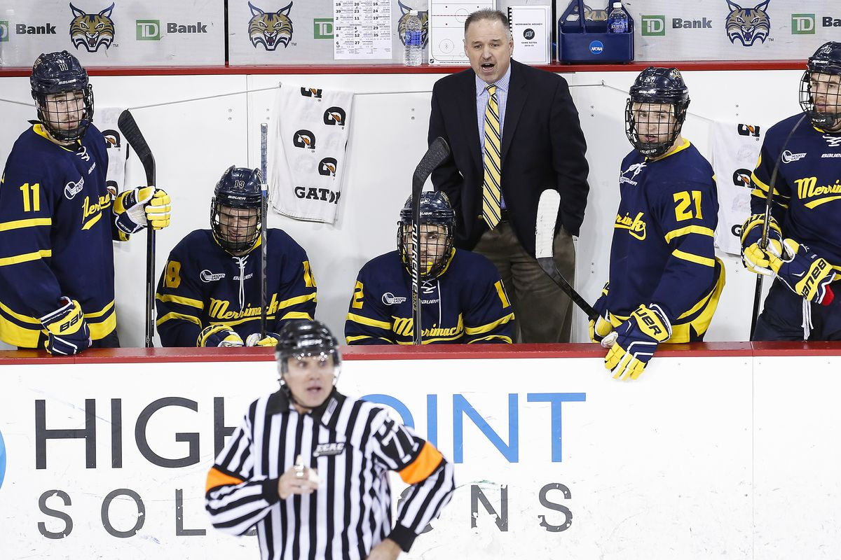 Merrimack became the lowest seed to ever play in the Hockey East Quarterfinals.