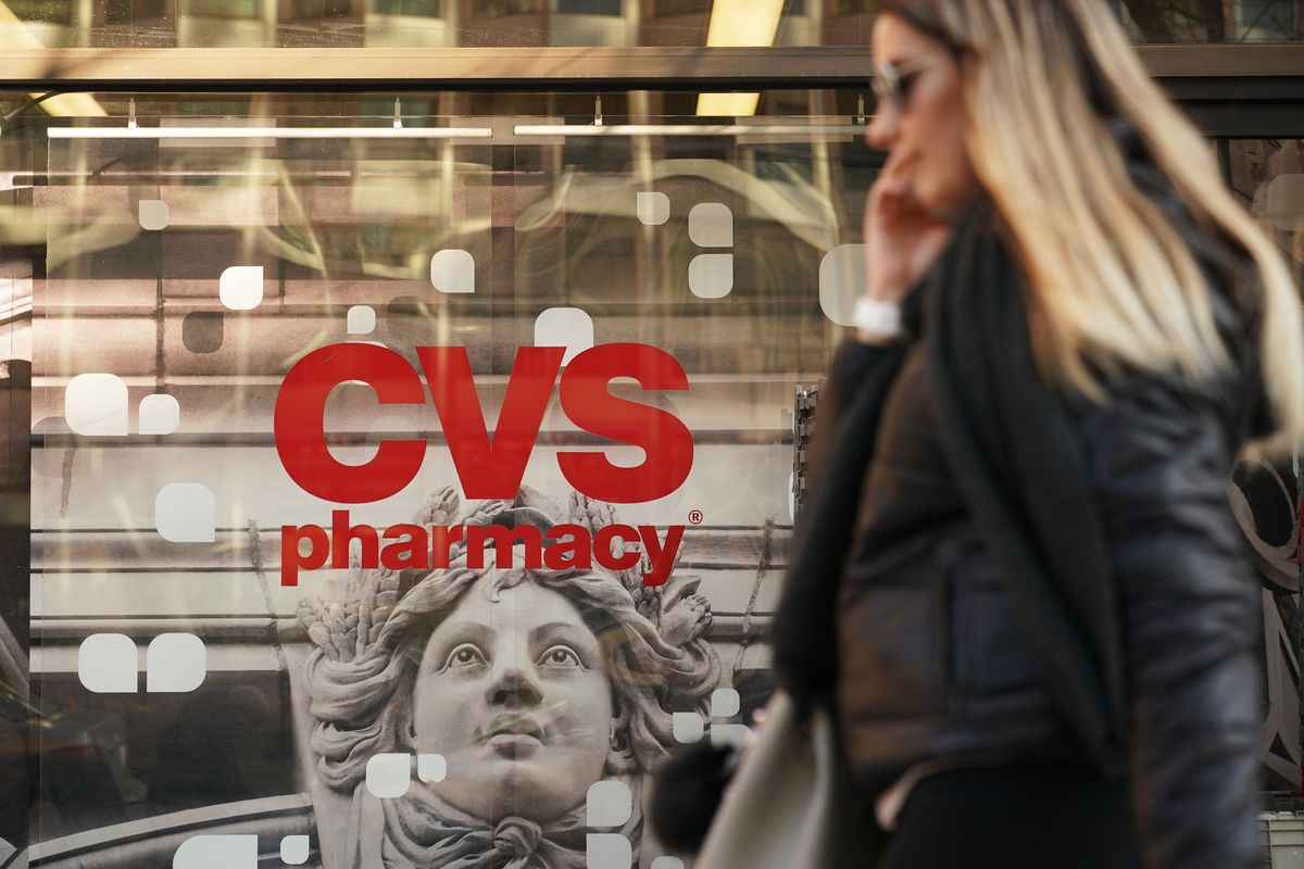 recode daily  drugstore chain cvs will buy health insurer
