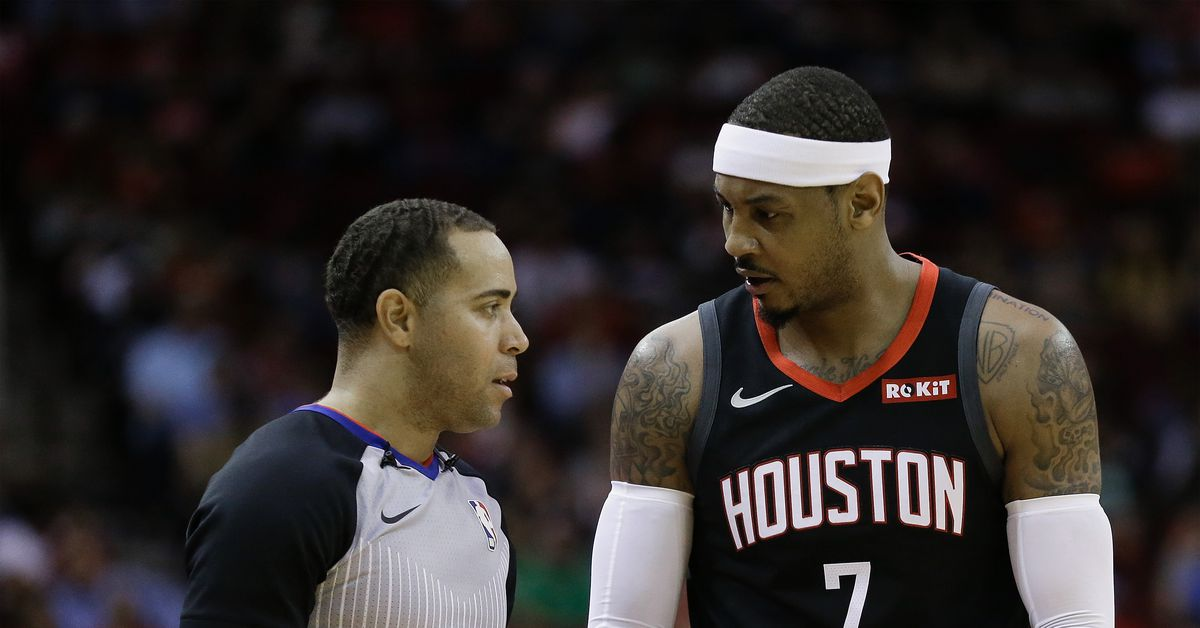 Rockets trade Carmelo Anthony, sign Kenneth Faried