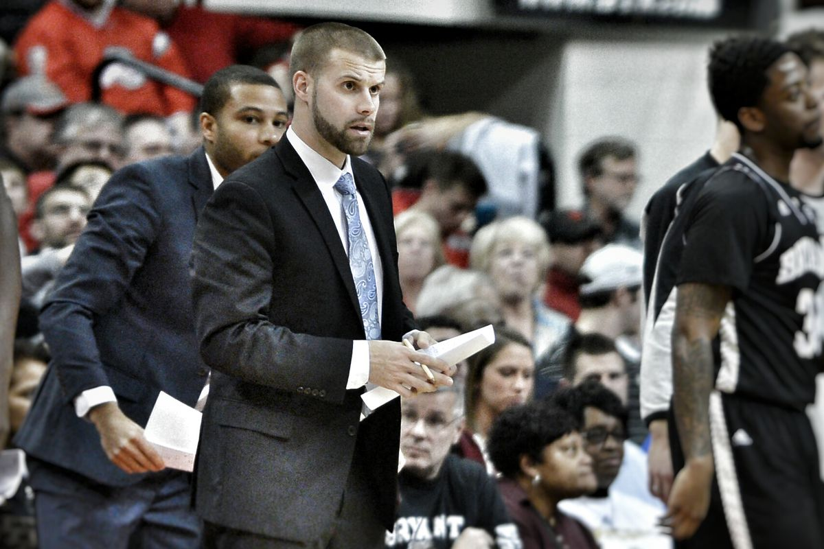 Chris Burns is the first Div. 1 men's college basketball coach to come out publicly as gay.