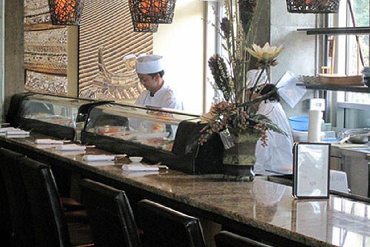 "Zen on Ten. Photo courtesy of <a href=""http://www.foodiebuddha.com/2009/10/04/zen-on-ten-restaurant-review-westside-atlanta-ga-first-impressions/"">Foodie Buddha</a>."