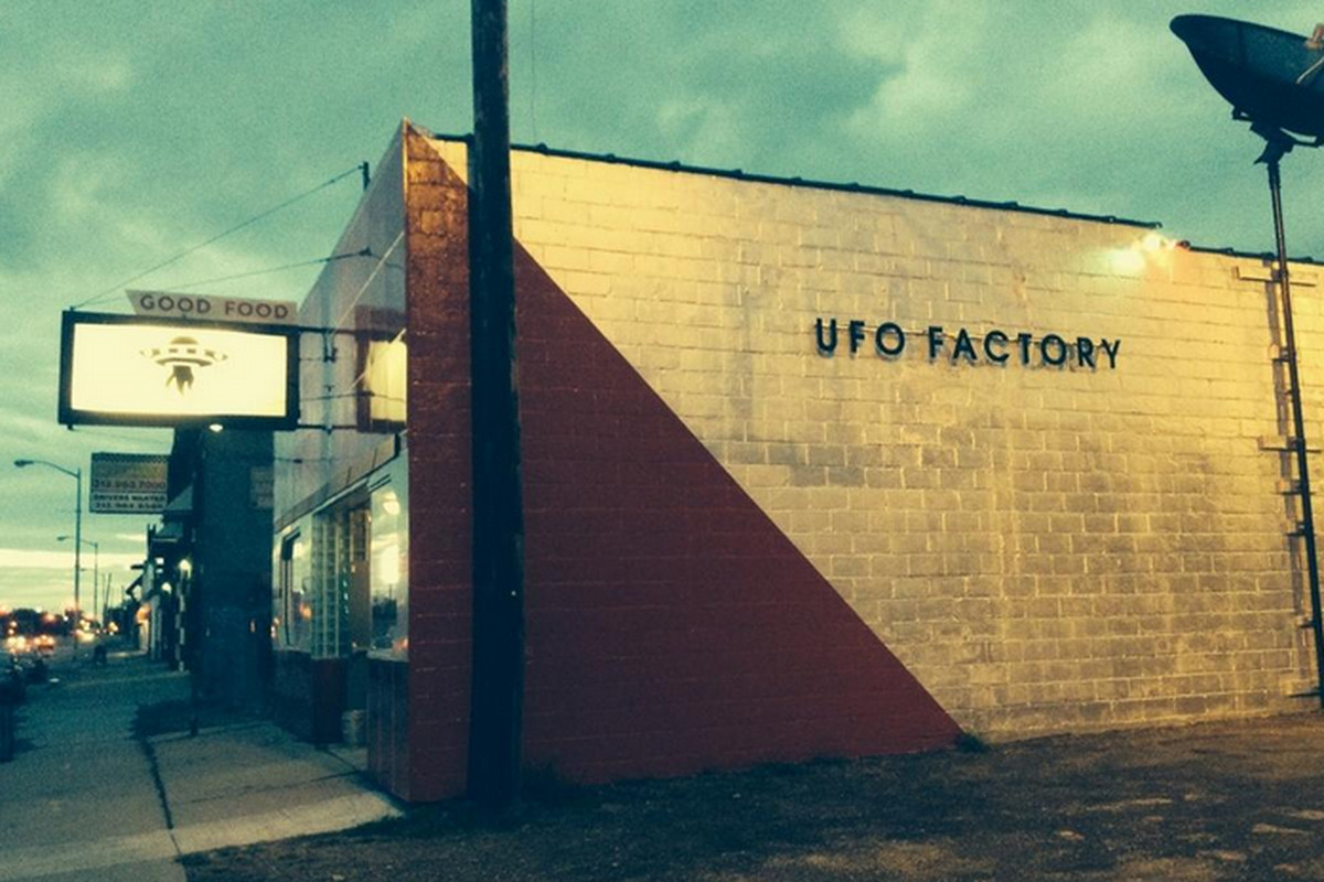 The UFO Factory.