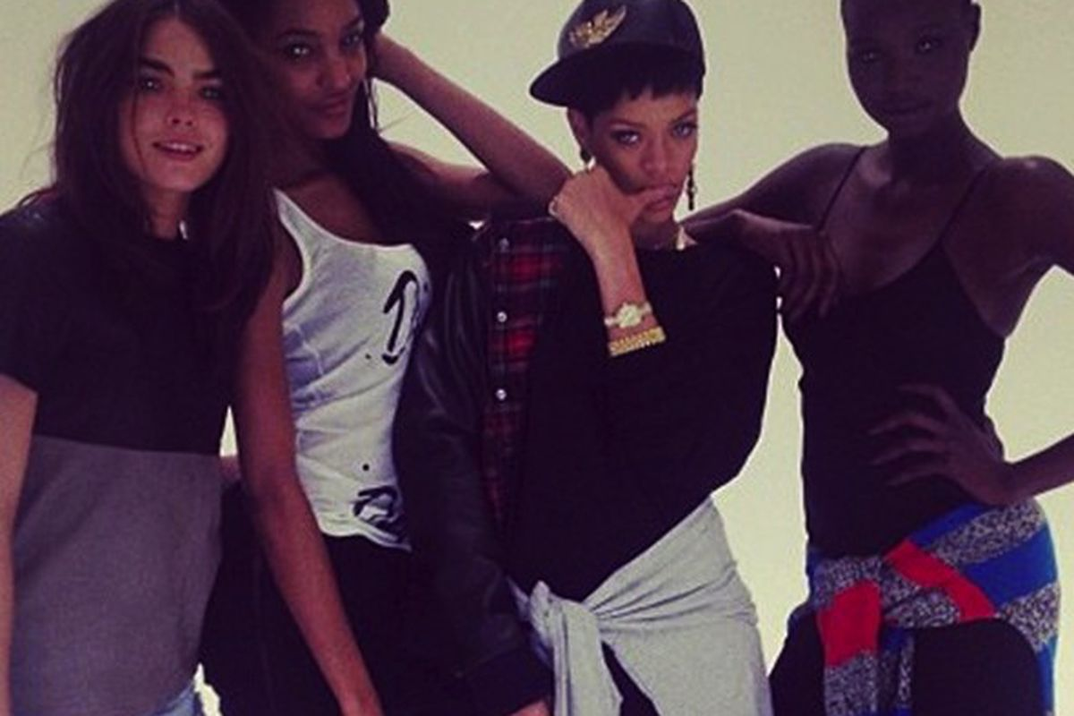 From Rihanna's first River Island collection