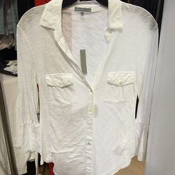 Women's shirt, $45