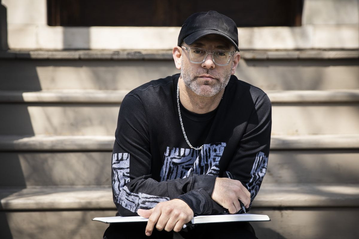 Kevin Coval, former artistic director at Young Chicago Authors.