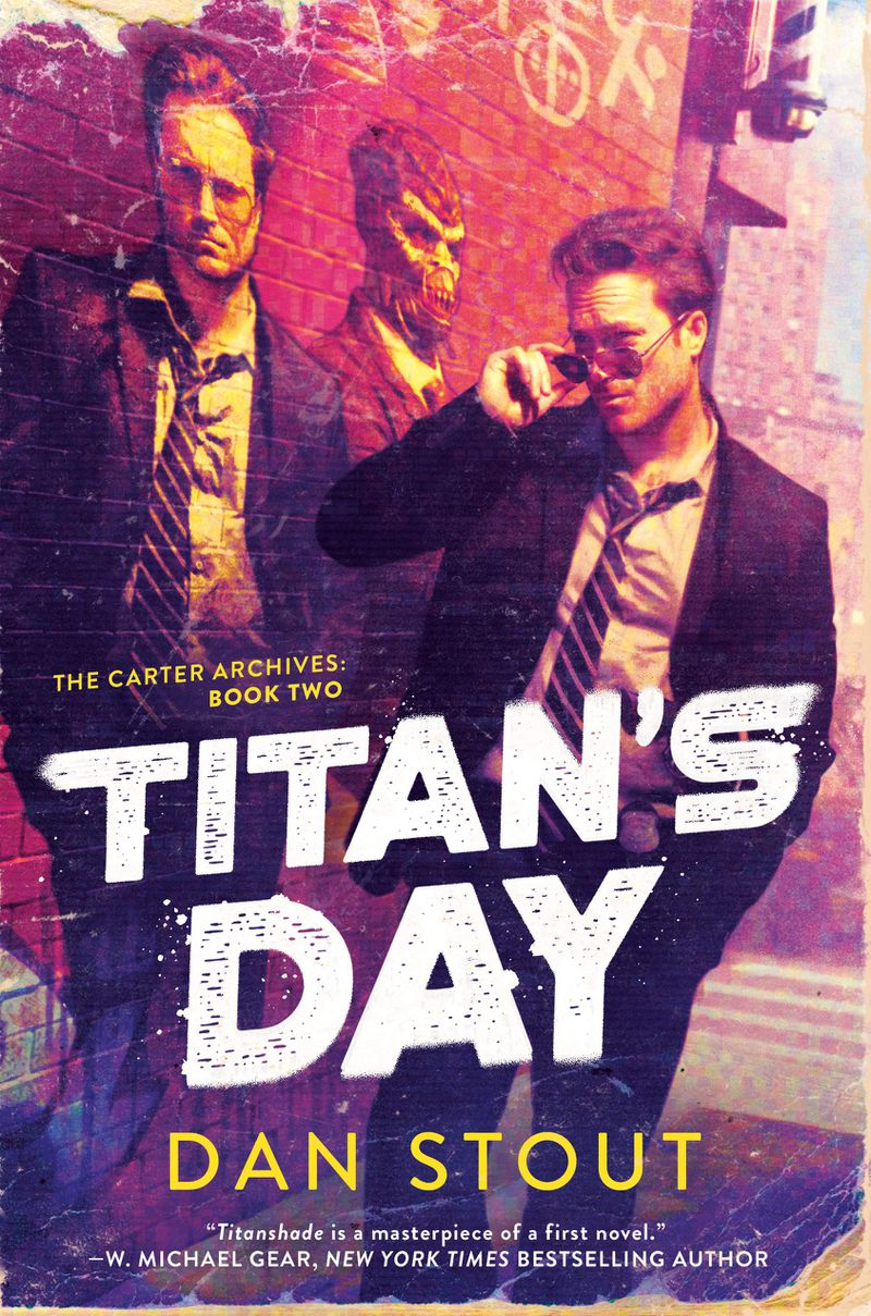 Titan's Day cover with a cool guy in sunglasses