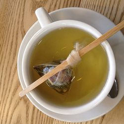 """I think I have a sty coming on. My remedy for this is to make a double dose of <b><a href=""""http://www.tsalon.com"""">T Salon</a></b> chrysanthemum tea, then take the lukewarm tea pouch and use it as a compress against the eyelid, to help reduce swelling and"""