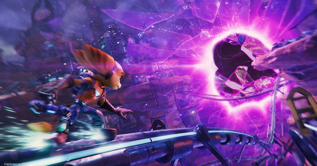 New Ratchet & Clank: Rift Apart PS5 gameplay revealed at Gamescom – Polygon