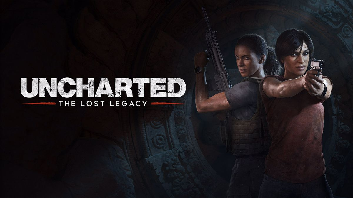 Key art for Uncharted: The Lost Legacy