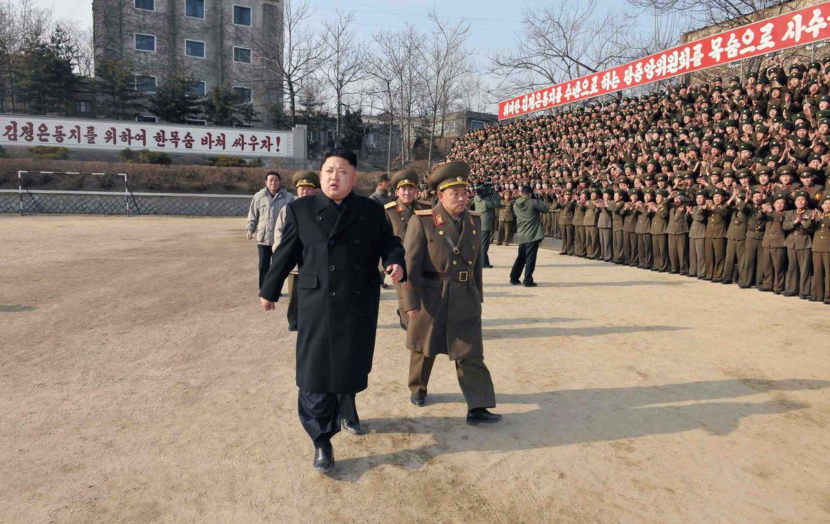 north korea kim jong un KNS/AFP/Getty Images