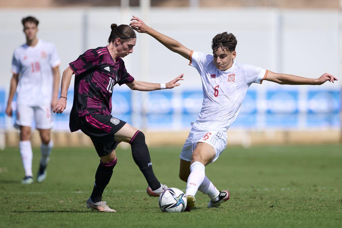 Spain U19 v Mexico U19 - International Friendly