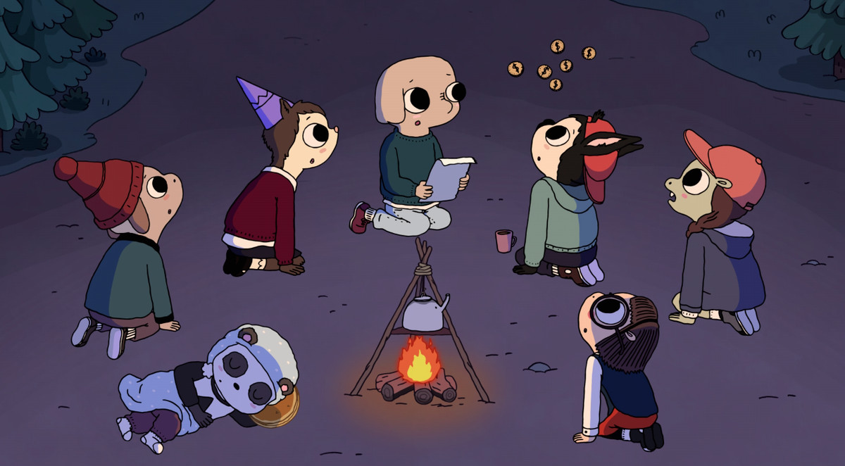 The cast of Summer Camp Island