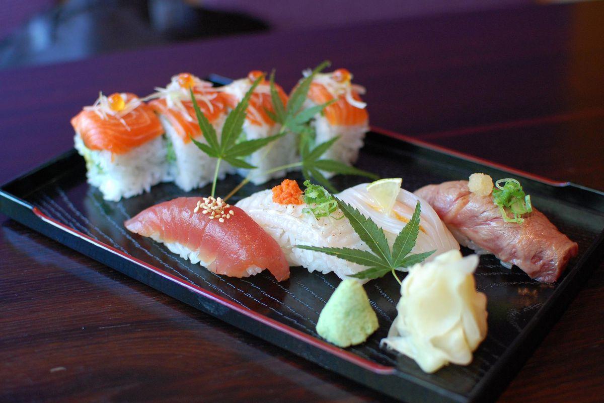 Sushi at Fuki Sushi in Palo Alto