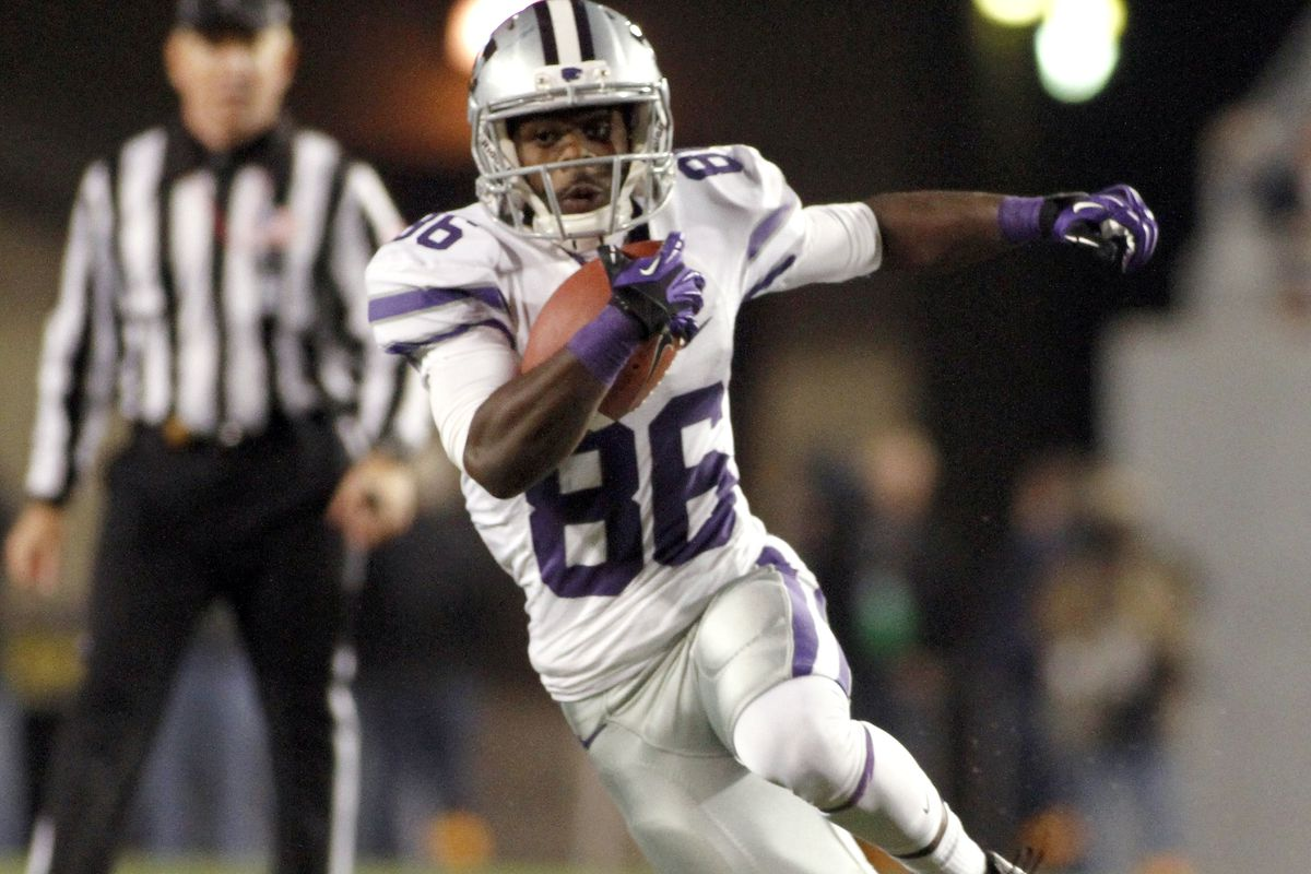 Tramaine Thompson was one of K-State's most underappreciated wide receivers. Isaiah Harris will have a lot to live up to if he ends up wearing the same number as Thompson.