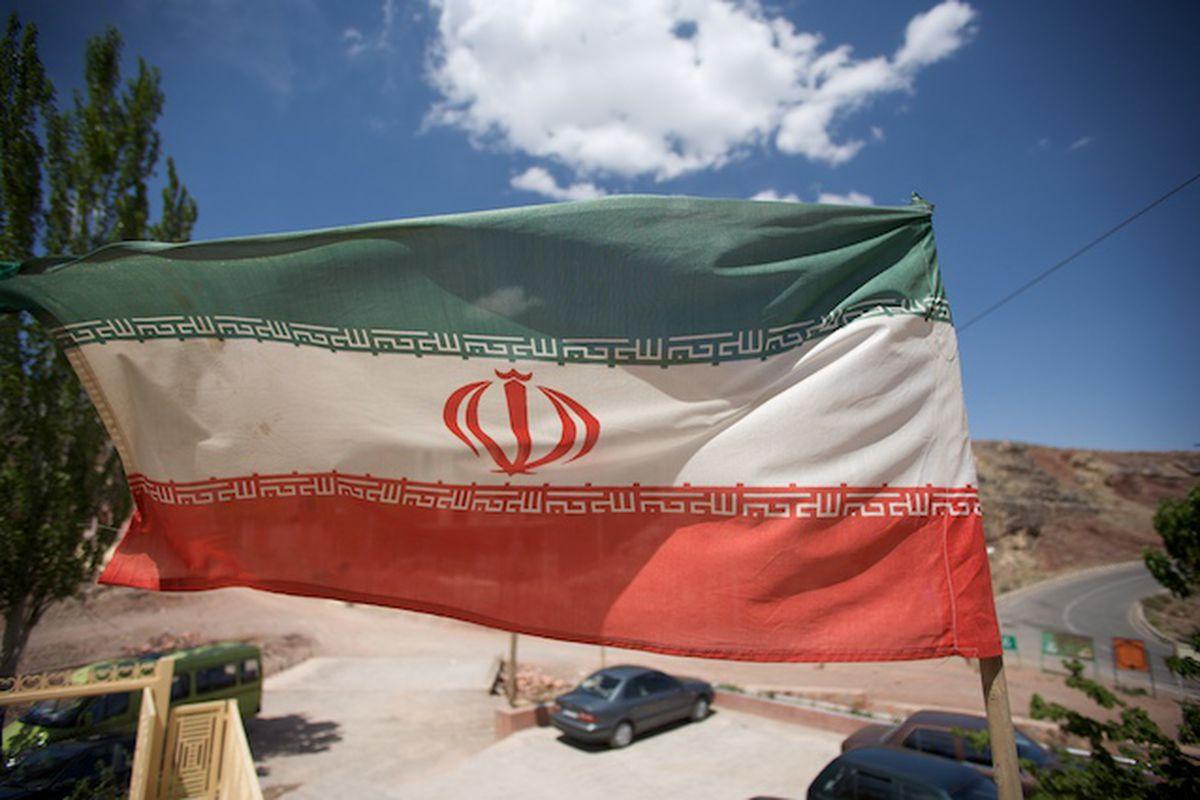 Iranian Flag (Flickr)