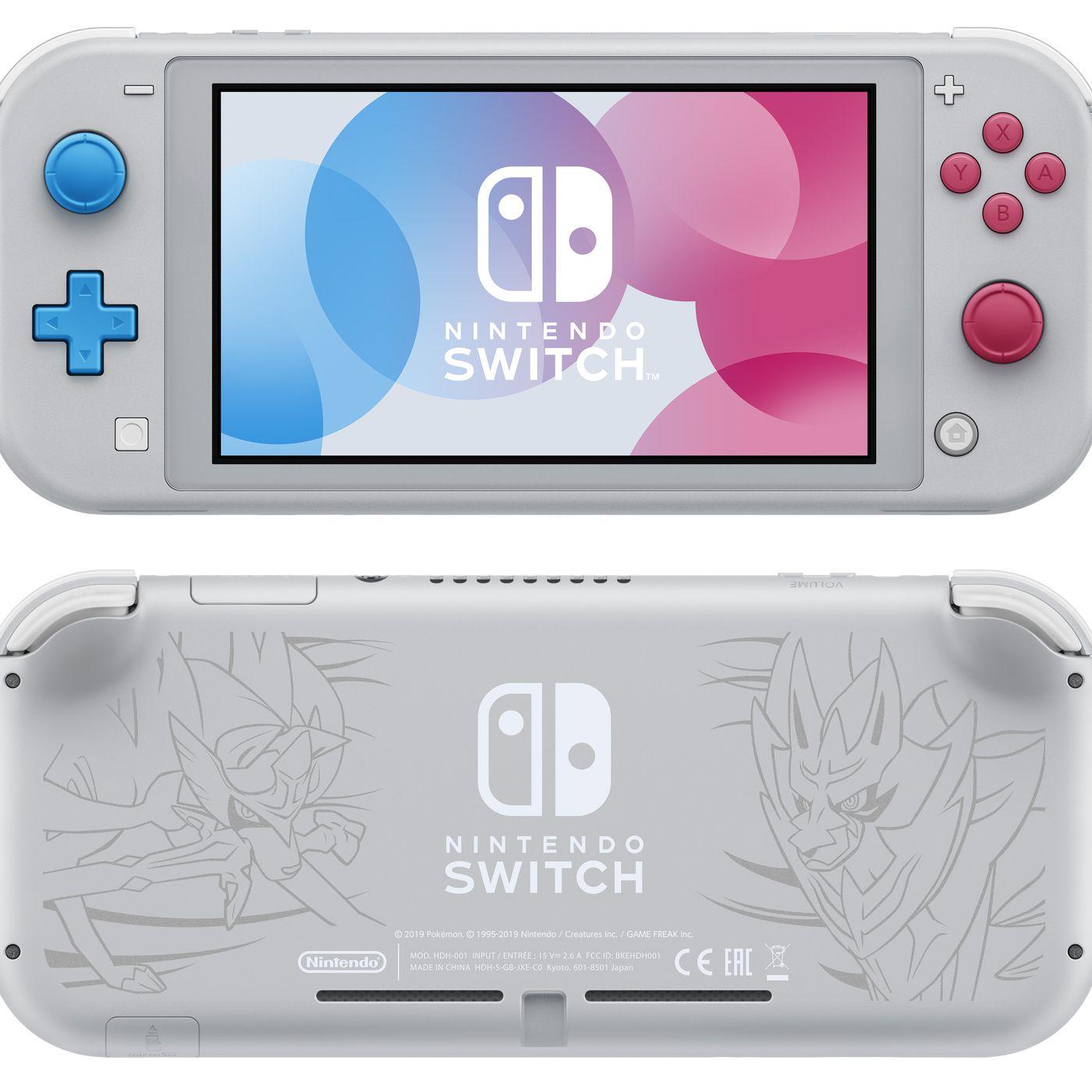 Pokémon Sword and Shield Nintendo Switch Lite special