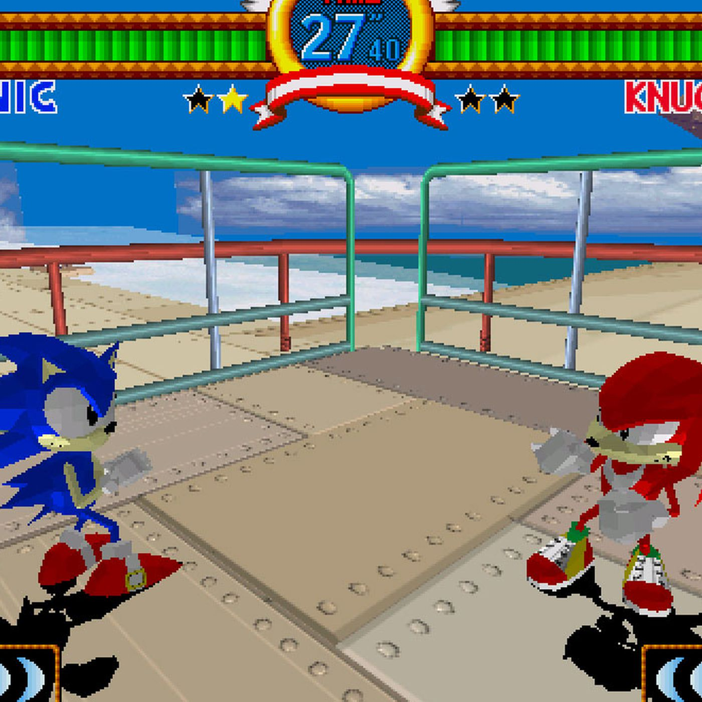 Sega's Virtua Fighter 2, Fighting Vipers, and Sonic the