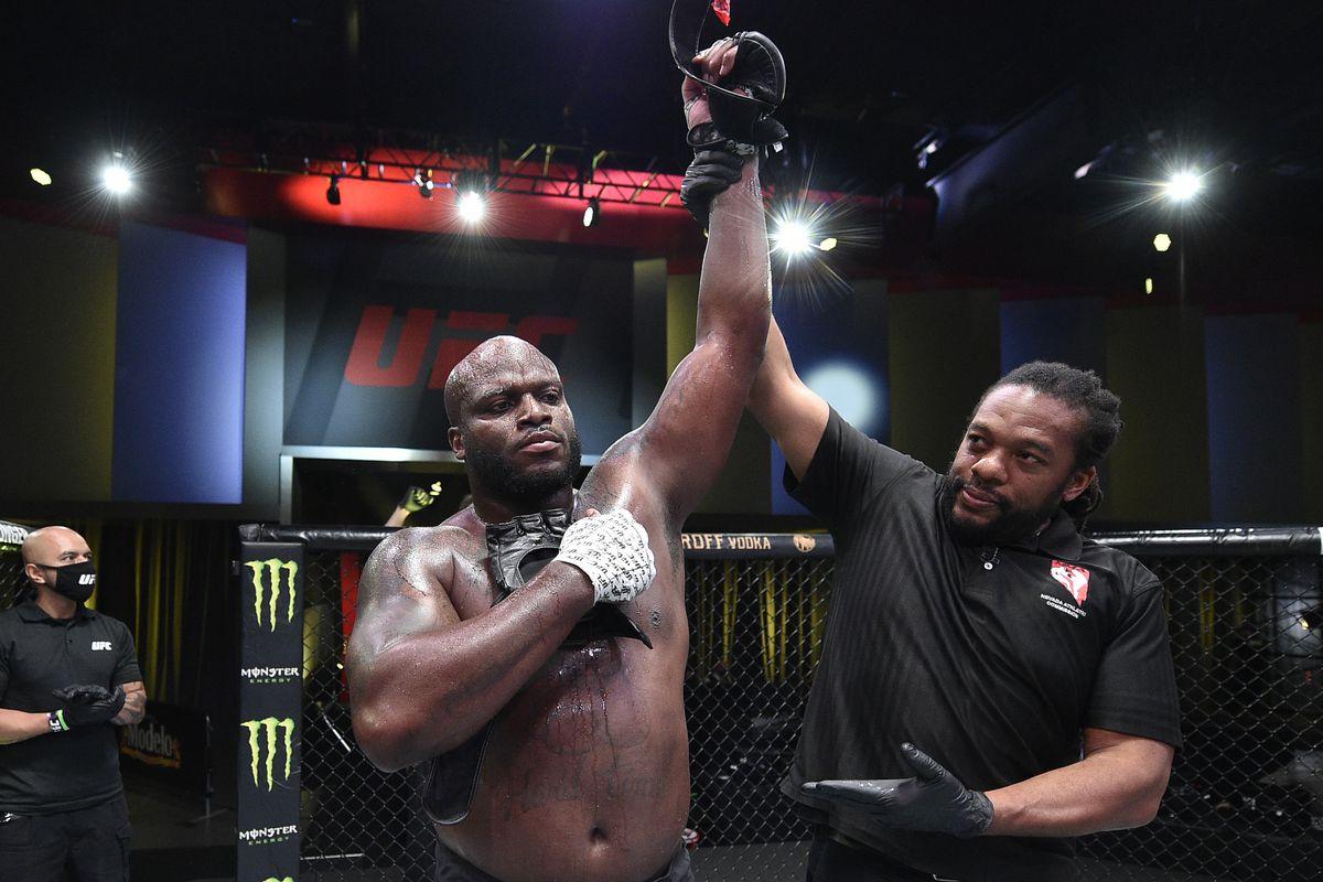 UFC Vegas 6 in tweets: Pros react to Derrick Lewis' knockout of ...