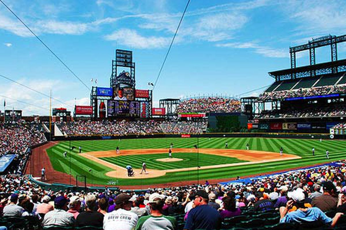 Where To Eat At Coors Field Home Of The Rockies Eater Denver
