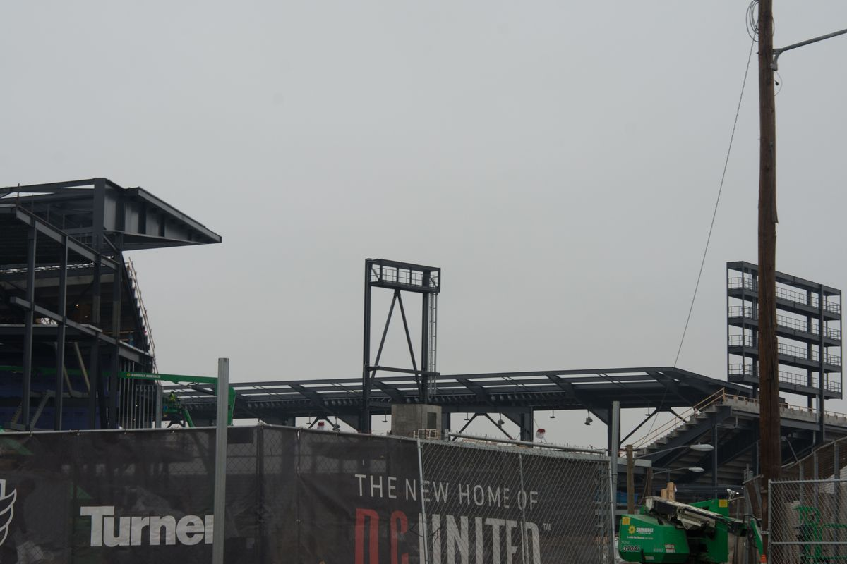 Dc United Can Begin Moving Into Audi Field Black And Red United