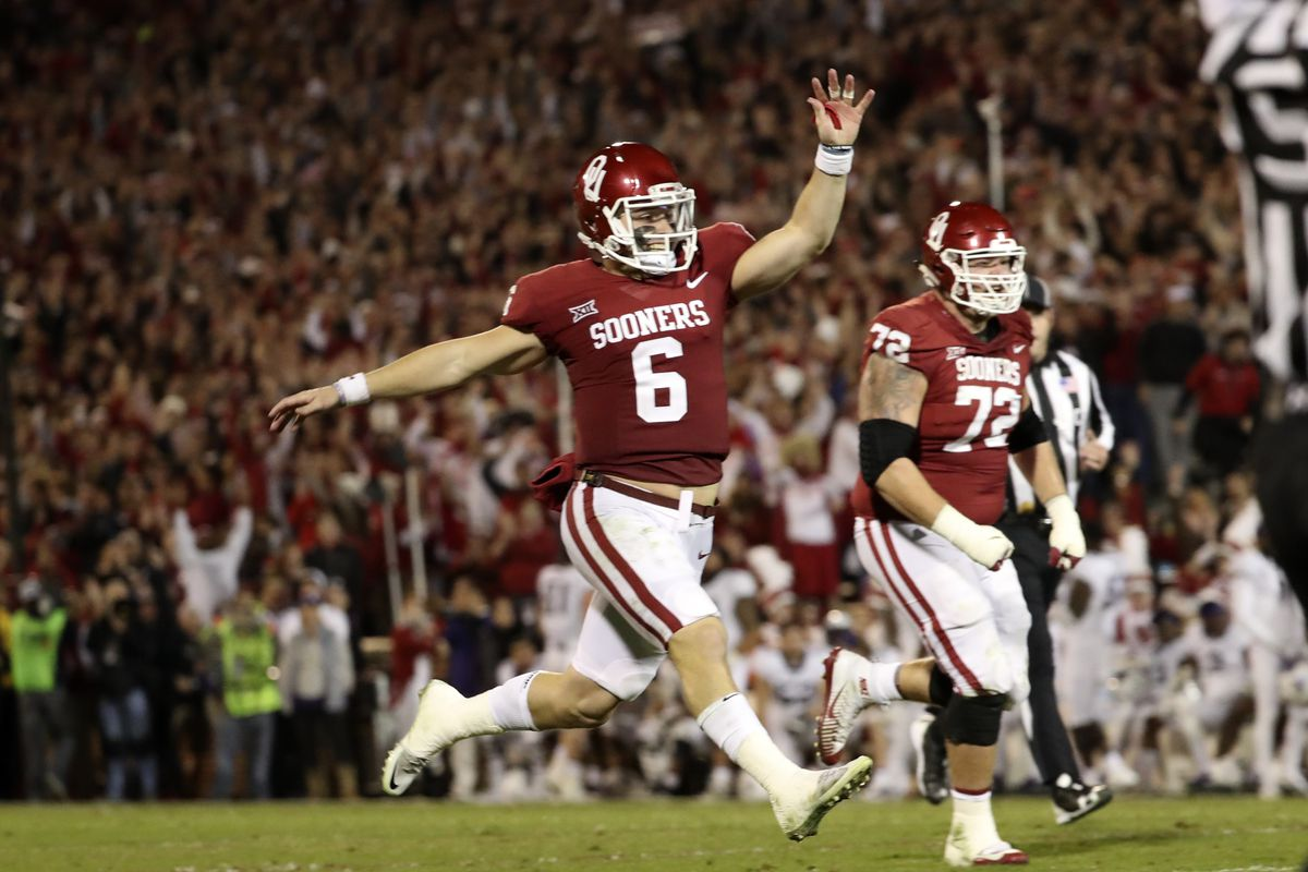 2018 Nfl Mock Draft Baker Mayfield Lands In The Top 10 8n Electrical System Trouble Shooting When Won39t Start Youtube Kevin Jairaj Usa Today Sports