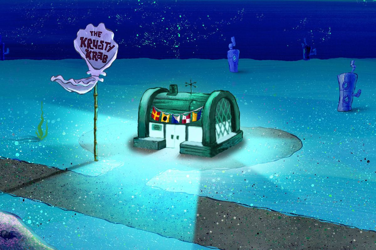 The Krusty Krab Is Not A Restaurant Name Thats Up For Grabs Says