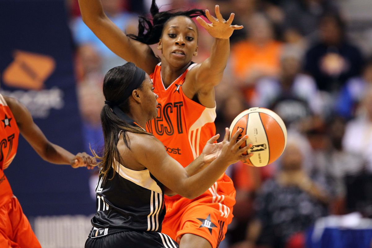 Glory Johnson has emerged as the Tulsa Shock's best player this season and deservedly so.