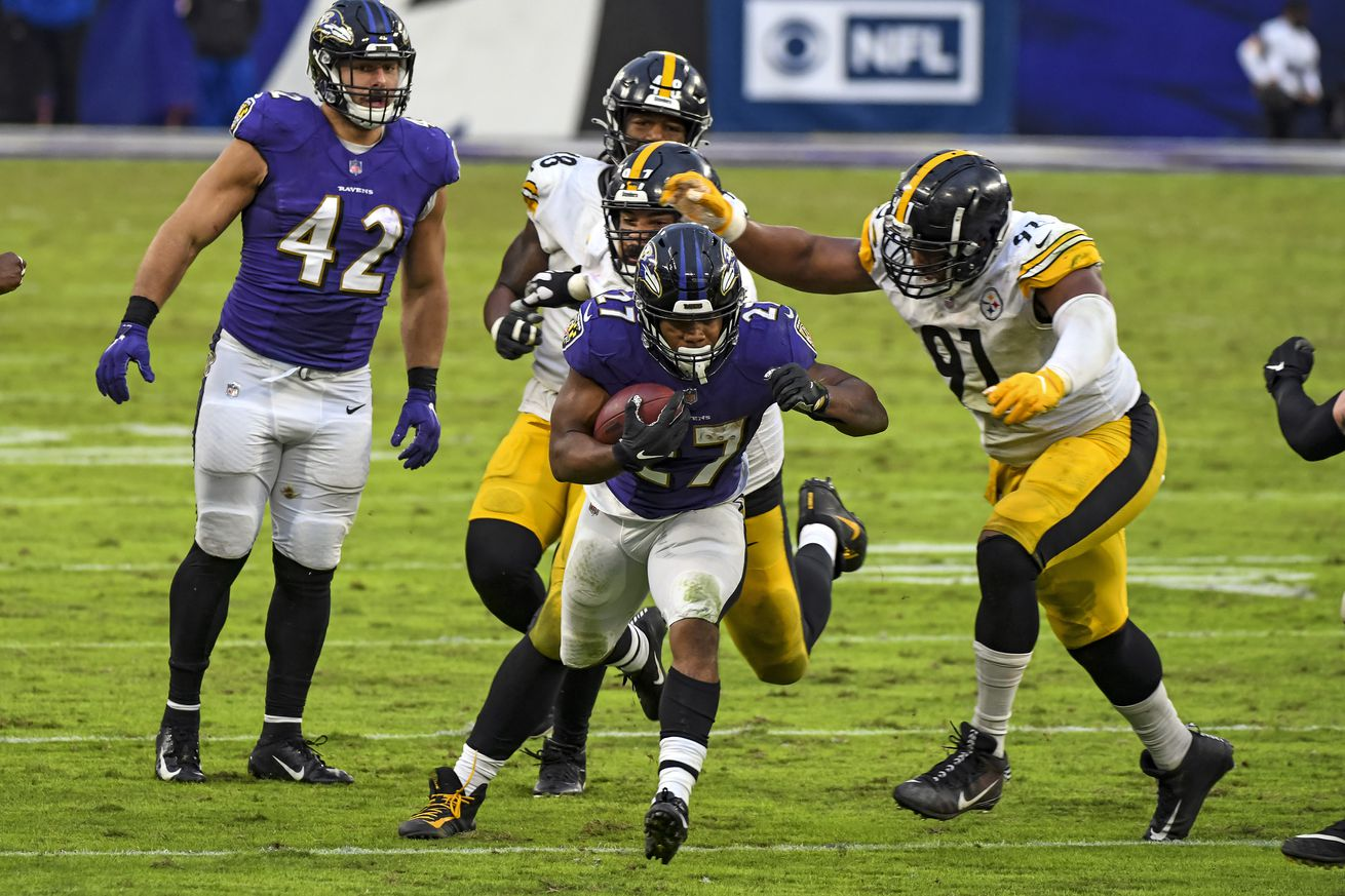 NFL: NOV 01 Steelers at Ravens
