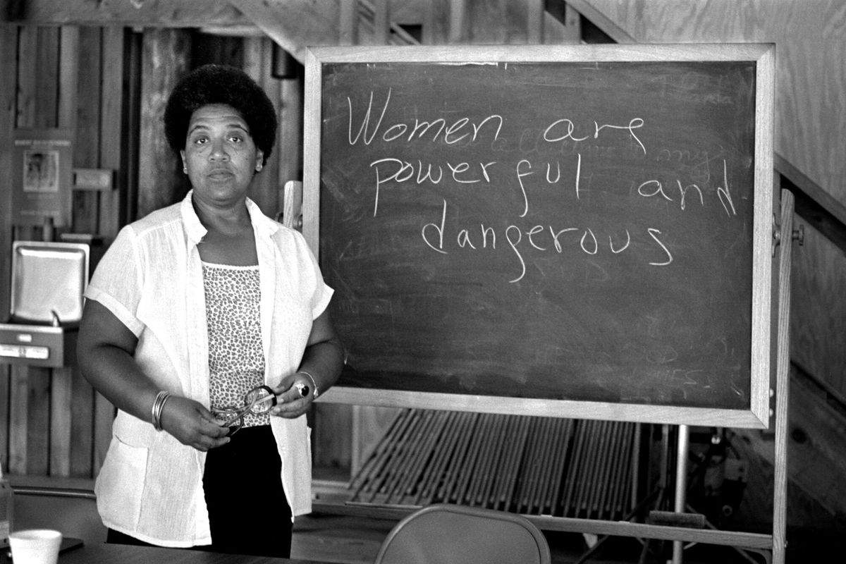 4de009830 Audre Lorde US Soccer Federation Robert Alexander Getty Images. ""