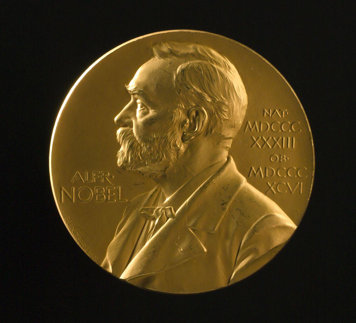 Nobel Prize medal Physics 1906