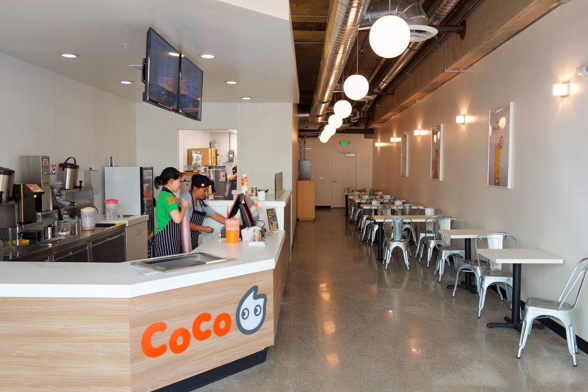Coco Fresh Tea & Juice, Downtown