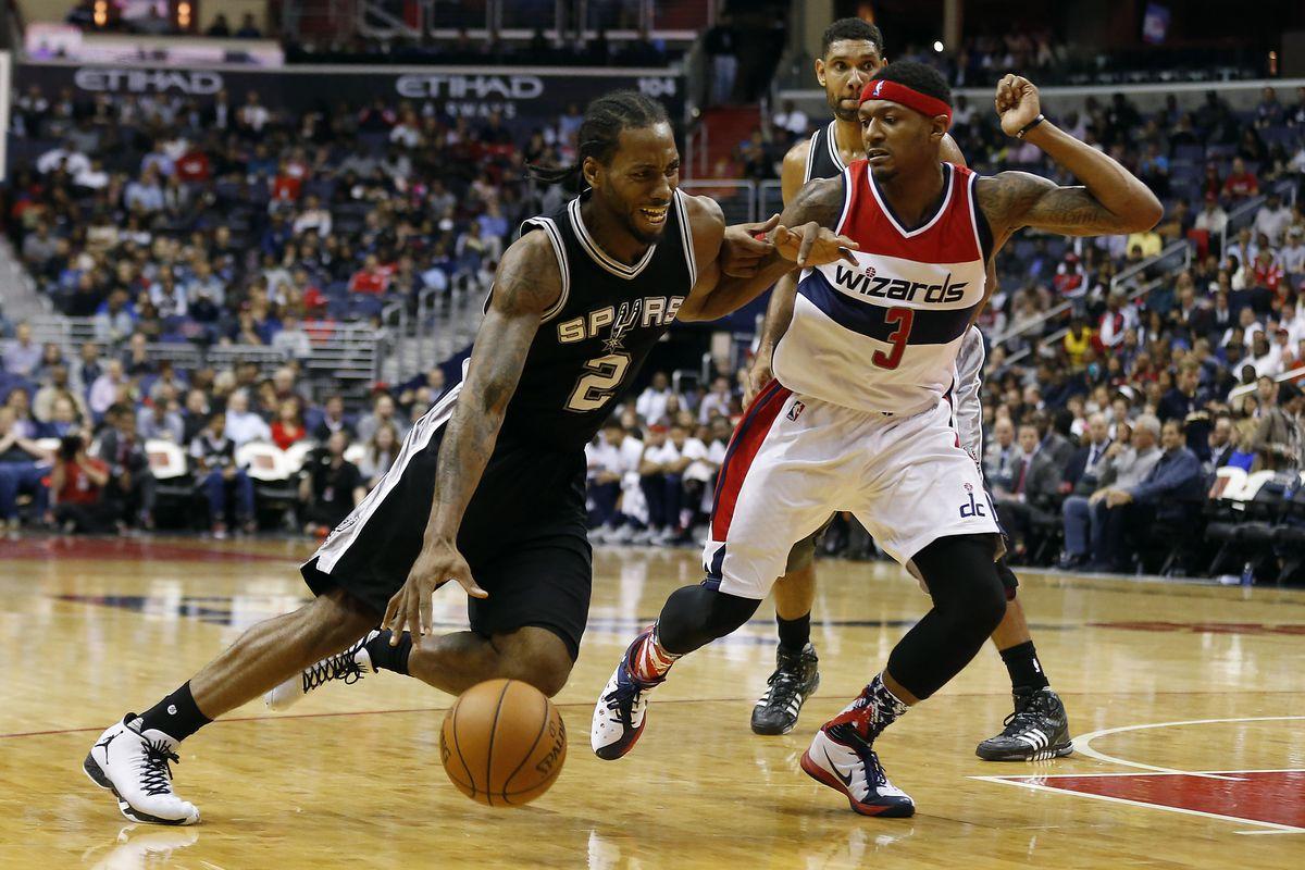 NBA: San Antonio Spurs at Washington Wizards