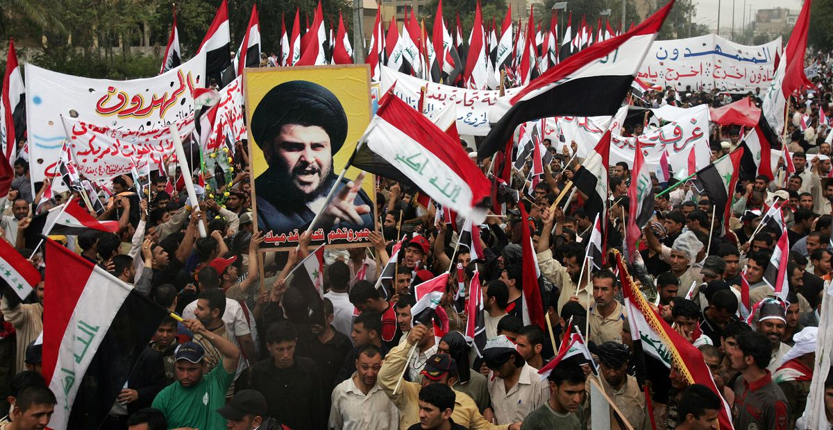 Muqtada Al-Sadr Supporters Rally Against US Presence In Iraq