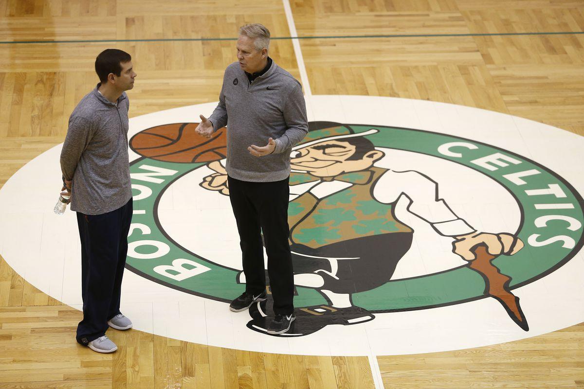 Boston Celtics Antrenmanı