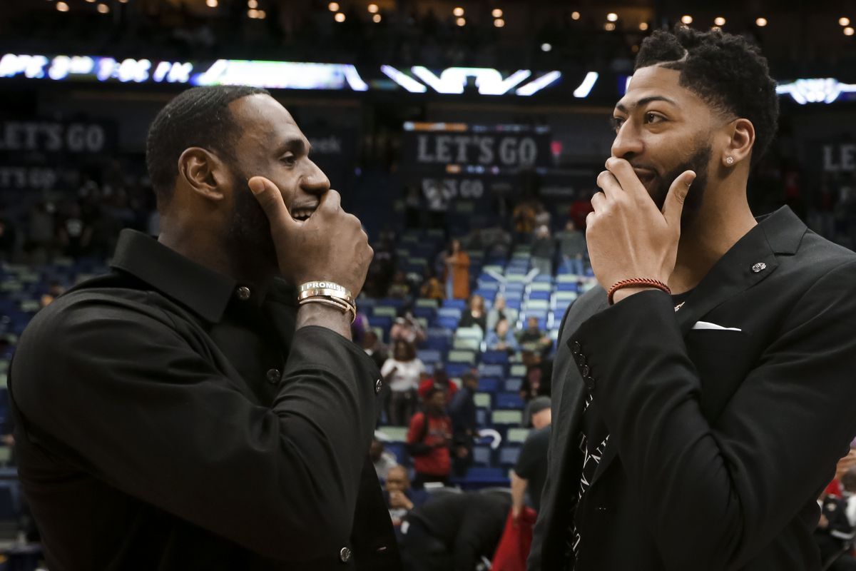 NBA: Los Angeles Lakers at New Orleans Pelicans