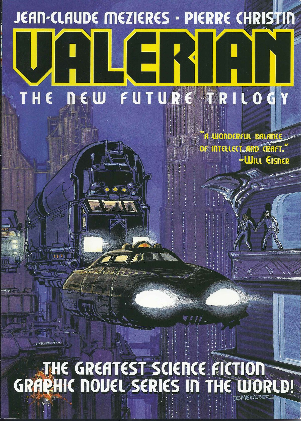 The cover of Valérian and Laureline