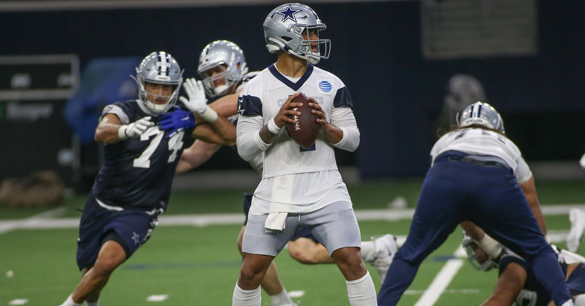 Cowboys players are not participating in boycotting offseason in-person workouts, still showing up at the Star