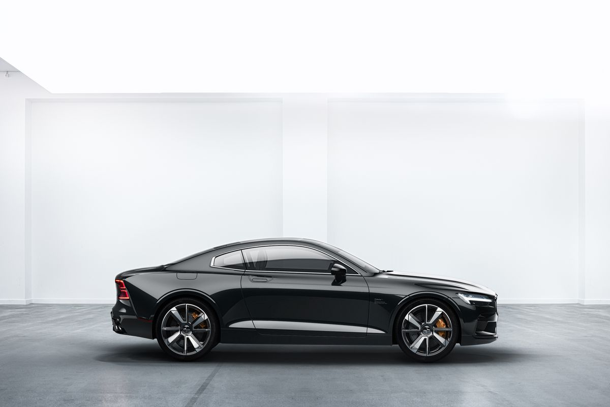 Volvo Sports Car >> The Polestar 1 Is A 600 Horsepower Hybrid Sports Coupe From Volvo