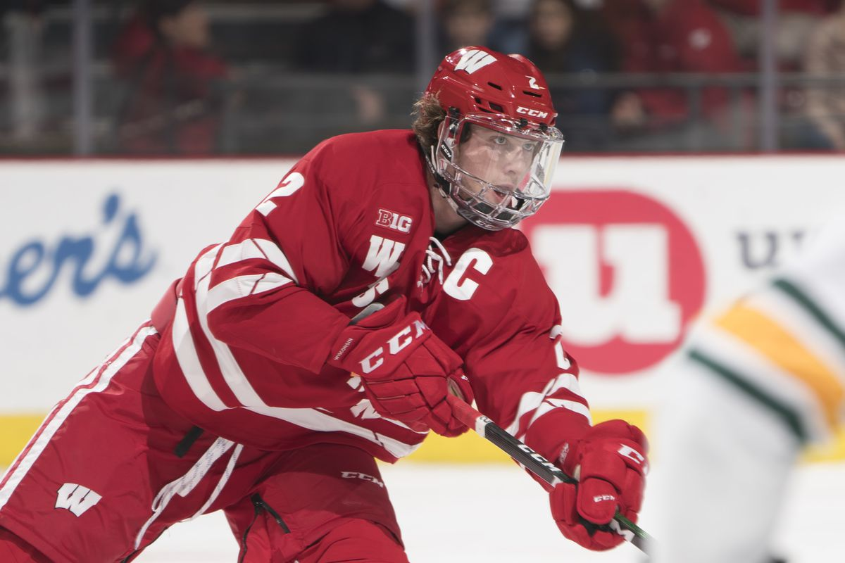 Wisconsin captain Wyatt Kalynuk chose the Blackhawks out of a number of suitors this summer.