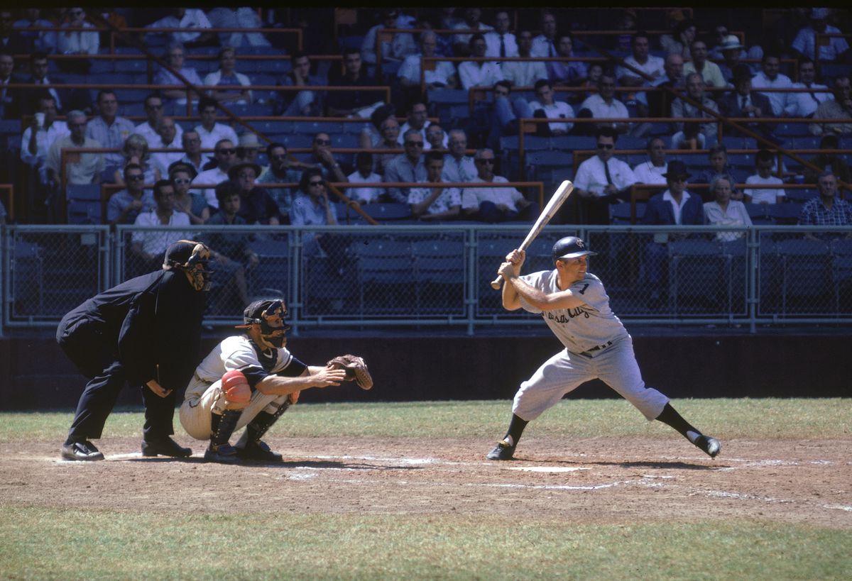 Dick Howser At Bat