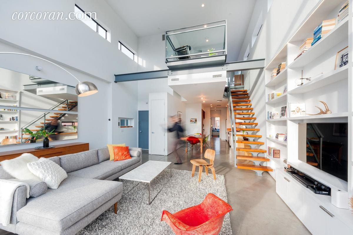 Modern Carroll Gardens Penthouse Asks Curbed Ny